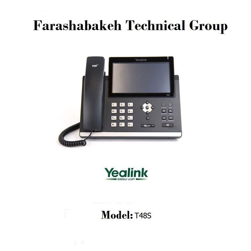 تلفن تحت شبکه Yealink مدل T48S