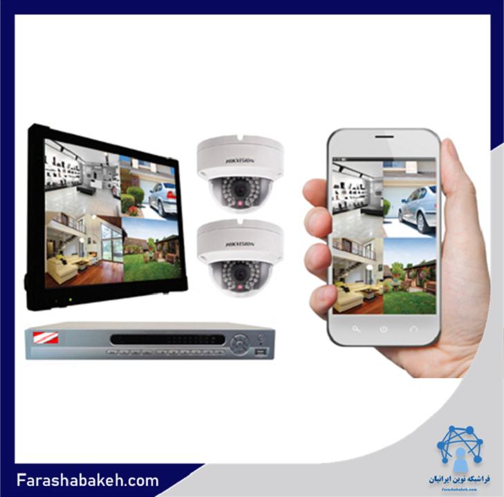 انتقال تصویر دوربین مدار بسته بر روی موبایل